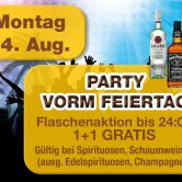 Party vorm Feiertag
