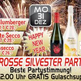 Grosse Silvester Party