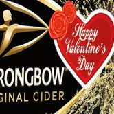 Happy Valentine's Day powered by Strongbow